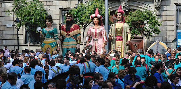 catalonian cultural heritage Festivals traditions Catalonia