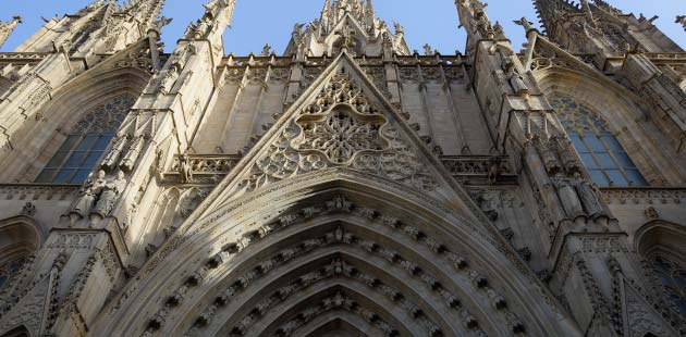 Barcelona tourist information. Religious monuments Barcelona
