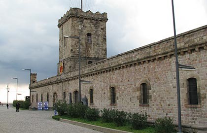 Visit the most beautiful fortresses in Catalonia. Tourist information about the castle of Barcelona.