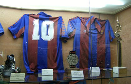 Visit the best museums of Catalonia. Tourist information about the FC Barcelona Museum